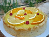 Zesty Lemon & Orange Pie