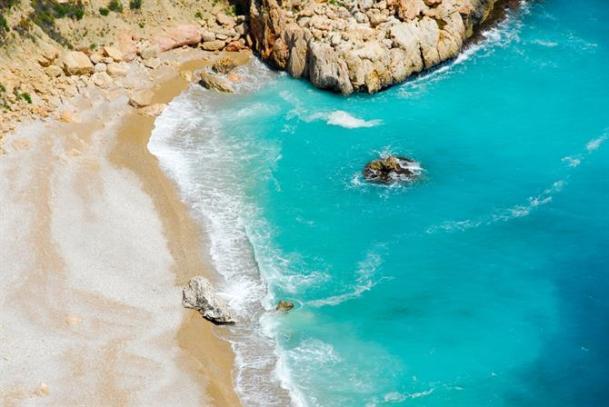 moraig beach