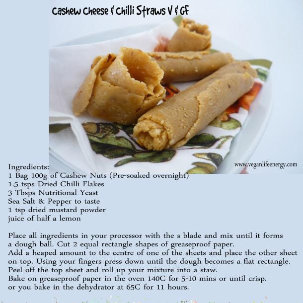 cashew straws