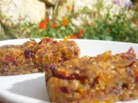 Fig and Cranberry Bars (See Recipes)