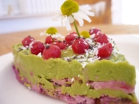 Avocado & Beetroot Sweet Dessert