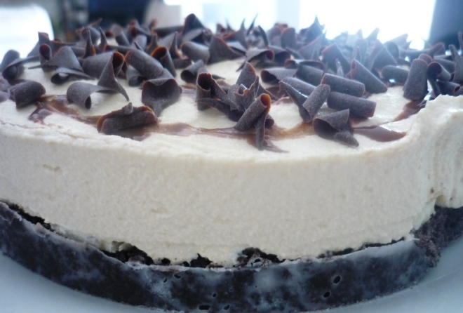 Chocolate & Banana Orea Cheesecake 001