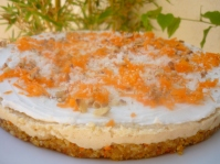 livingraw carrot cake cheesecake 002
