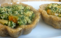 Spinach and Tofu Tarts