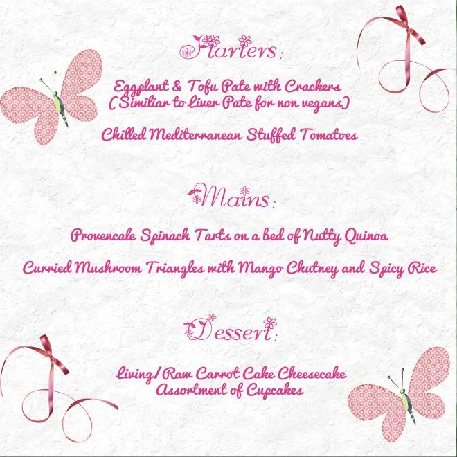 wedding menu1