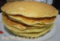 Regular Breakfast Pancakes