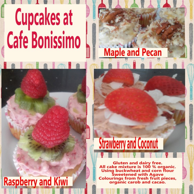 cupcakes at cafe bonissimo