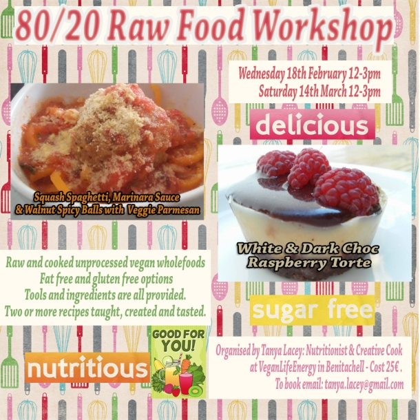 rawfood workshopfebmar