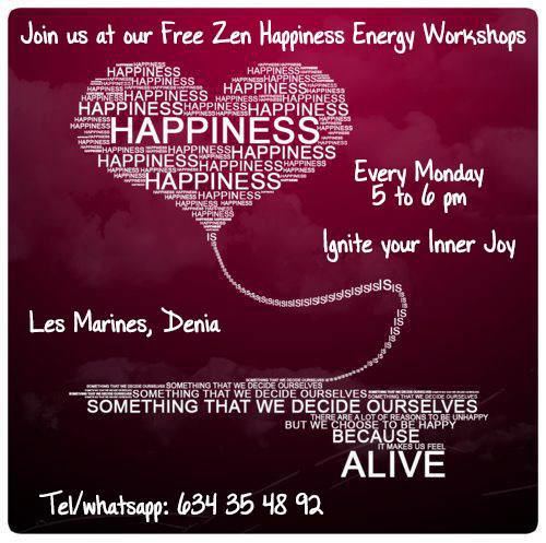 happiness energy workshops